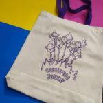 Creciendo Juntas · Bolsa 100% algodón orgánico