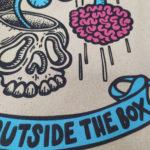 Think Outside The Box · Bolsa 100% algodón orgánico
